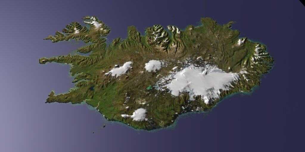 3D topography | DIGITAL LANDSCAPE